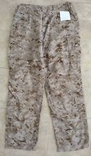 USMC Desert Frog Trousers, AUTHENTIC, LARGE - LONG (LL) NWT