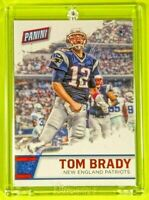 Father's Day Tom Brady Patriots Legend Spectacular Rare Fired Up!!! Card Mint
