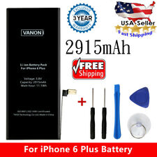 For iPhone 6 Plus Brand New Genuine Original Internal Battery Replacement 2915mA
