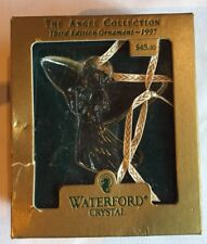 1997 Waterford Crystal Christmas Tree Third Edition Angel Ornament