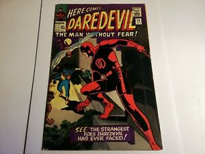 DAREDEVIL #10 SILVER AGE MARVEL COMICS 1965 1st appearance the Organizer Cat man