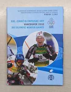Slowakei  Euro-KMS Olympische Winterspiele Vancouver 2010 PP  Nur 5000 Stück!