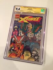X-Force 1 CGC 9.4 Signed By Co creator Fabian Nicieza