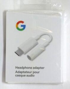 Google USB-C-to-3.5mm Audio Adapter ,White