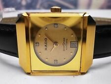 Vintage 1970's Rado Diastar Date Automatic Ladies Watch
