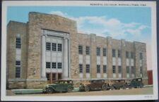 Marshalltown, IA 1920 Postcard: Memorial Coliseum - Iowa