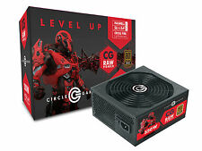 CIRCLE CG Raw Power 550W Modular Cable Design 80 Plus Bronze SMPS Power Supply