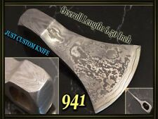 "6.5""Custom Damascus steel tomahawk hatchet axes head making suppliers DK-941"