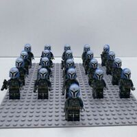 20x Mandalorian Troopers Mini Figures (LEGO STAR WARS Compatible)