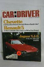 January 1976 Car and Driver Jaguar XJ-S Renault, Chevette