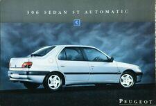 PEUGEOT 306 Berline ST automatique ventes notice-Février 1995