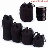 Protector Neoprene Bag Camera Lens Pouch DSLR Case For Canon Nikon Sony DSLR