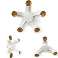 E27 1 to 5 E27 LED Light Lamp Bulb Adapter Converter Split Splitter Base Socket