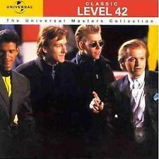 Level 42 Classic CD NEW Running In The Family/Leaving Me Now/Hot Water/Tracie+