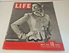 May 8, 1944 LIFE Magazine  FREE SHIPPING 5  WWII War era