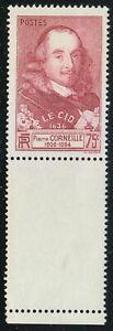 France 1937 MNH Mi 341 Sc 323 Pierre Corneille ** French tragedian