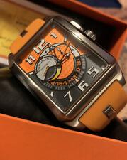 Stuhrling Original Krysterna Crystal Stainless Steel Swiss Quartz Alarm Watch