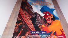 LE BOSSU DE NOTRE-DAME  ! affiche cinema walt disney