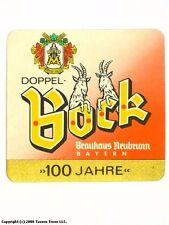 Germany 1950s Neubrunn Doppel Bock Bier Beer Label Tavern Trove