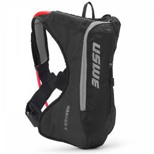 USWE Ranger 4 Black  Hydration Pack 3 Litre Enduro Drinks Pack Hiking Backpack