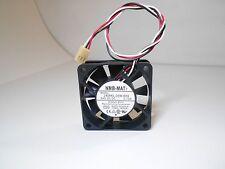 NMB 2406KL-05W-B59 Fan 24V 0.13A 60*60*15 3pin #M2102 QL