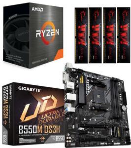 Aufrüstkit Bundle PC 6 AMD Ryzen 5 5600X 6x 4,6 Ghz Turbo Gigabyte B550M-DS3H