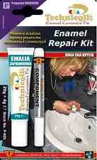 Sink Repair Kit WHITE fix filler chips Ceramic, Enamel, Acrylic Bath, Shower