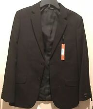 Apt 9 Slim Fit Men's Sport Suit Blazer Jacket Coat Black Short 38 Brand New NWT