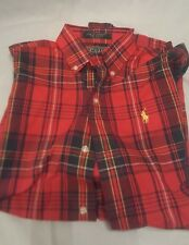 Polo Ralph Lauren Plaid Shirt Boys Medium