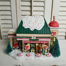 NEW Winter Valley 7-Eleven Store Building For Christmas Village RARE 2004 NIB