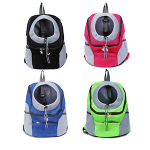 Pet Supplies Mesh Travel Backpack Breathable Outdoor Cat Dog Carrier Bags