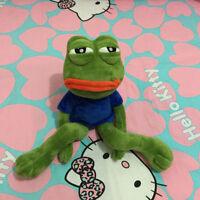 18'' Pepe The Frog Sad Frog Plush 4chan Kekistan Meme Doll Stuffed Toy Xmas