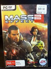 MASS EFFECT 2, PC GAME, 2 DISC, (PC DVD)