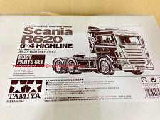 Tamiya 56514 1/14 RC Scania R620 6x4 Highline Body sets