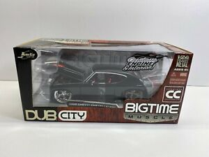 Jada Toys 1:24 Scale 1969 Chevy Chevelle SS Collectors Club Dub City New Boxed