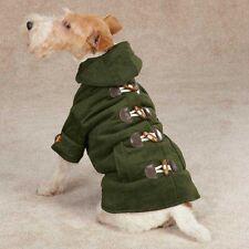 XSMALL Green Corduroy Sherpa lined Hooded Dog Coat Chihuahua Shih tzu  Yorke USA