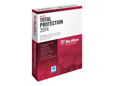 Mc Afee Total Protection 2014 2015 DOWNLOAD pour 1 PC 12 Mois