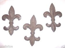 Gostatue 3 plastic molds plaster rapid set cement all fleur di lis molds moulds