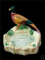 Unusual Beswick Pheasant Bird Ash / Pin Tray / Dish