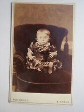 Einbeck - Kleines Kind im Sessel / CDV