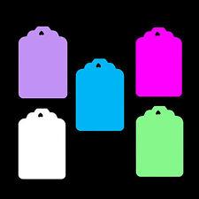Medio forma clásica Precio Etiquetas Pantalla Swing Entradas. favours.all Colores