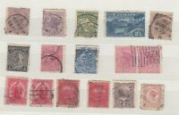 New Zealand QV Unchecked Collection Of 16 Fine Used JK204