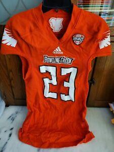 Bowling Green State University Football Jersey Game Used Worn Adidas BGSU MAC