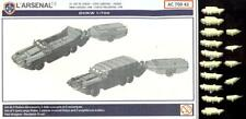 L'Arsenal Models 1/700 DUKW with TRAILERS (10) Resin Set
