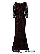 Bodenlanges Abendkleid mit raffiniertem Rückenausschnitt  Gr.34