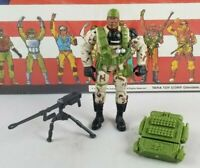 Original 2002 GI JOE HEAVY DUTY V4 ARAH not Complete UNBROKEN figure Two Pack