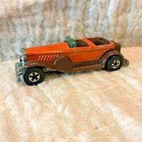 VINTAGE 1976 Hot Wheels blackwalls '31 Doozie Orange Brown Hong Kong car rare!