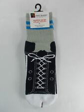 NWT Foot Traffic Sneaker Slipper Socks Non-Skid Non-Slip - Great Gift Idea