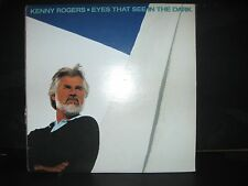 KENNY ROGERS - EYES THAT SEE IN THE DARK  - 1983 - VINYL LP  -RCA  RECORDS