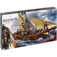 Mega Bloks Assassin's Creed Gunboat Takeover Building Set Dbj05 - 580 Pc